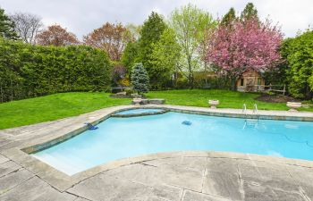 Backyard Swimming Pool Cumming GA